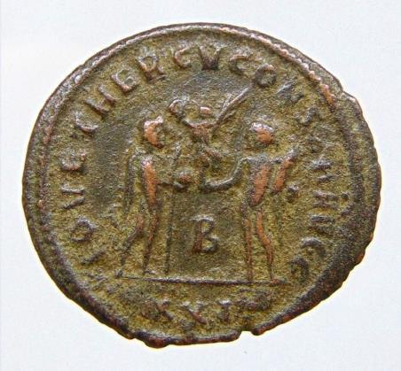 Diocletian. A.D. 284-305. Æ antoninianus