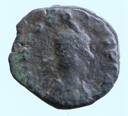 Moeda Romana Theodosius II. AD 402-450.