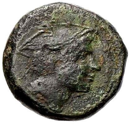 Moeda Escassa da República Romana Anônima 215-212 aC