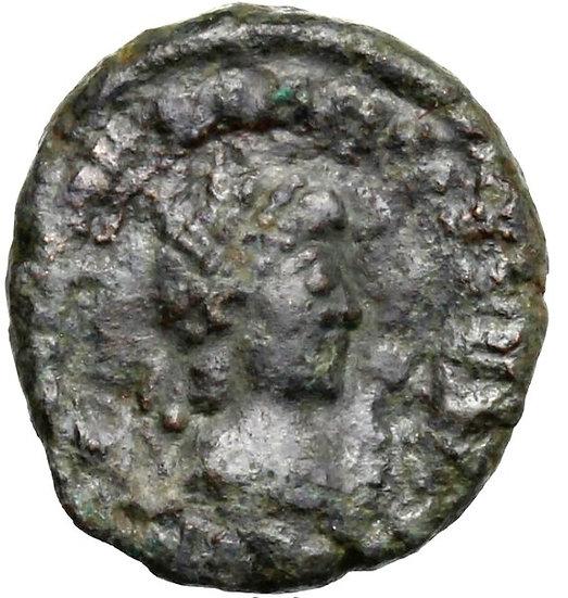 Moeda Romana Raríssima de Majorian (457-461).