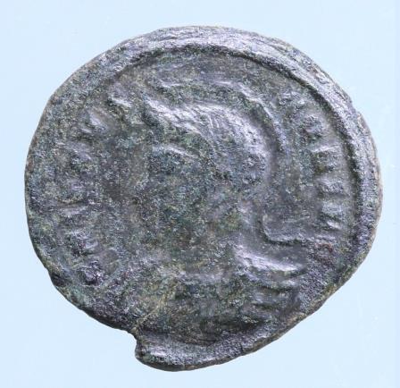 Moeda romana de Crispus 323dC