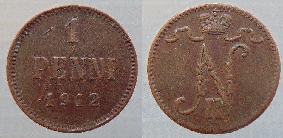 1 Penni 1912 (cobre)