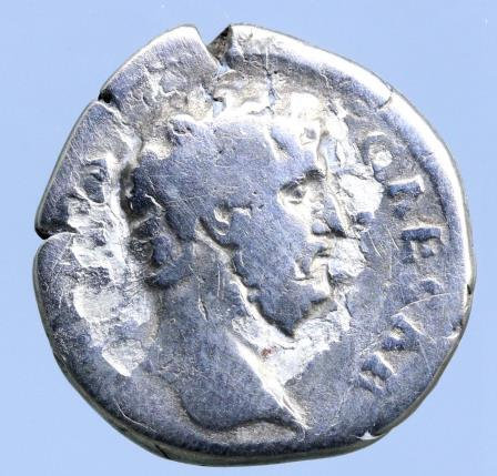 Moeda Romana L. Aelius (Caesar, AD 136-138), Silver Denarius
