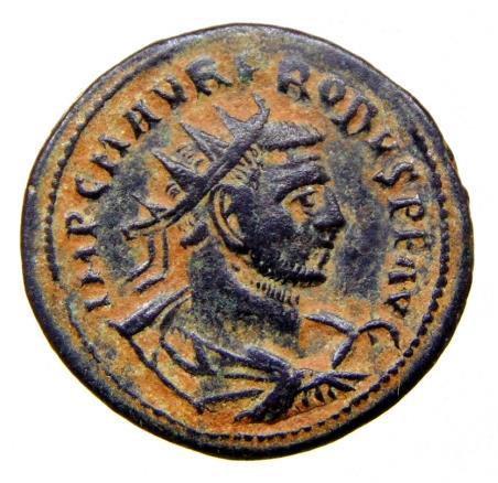 Moeda Romana Antoniniano de Probus 276-282 dC