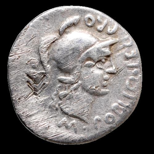 Moeda Imperatorial de Pompeu Magno (79-45 aC)