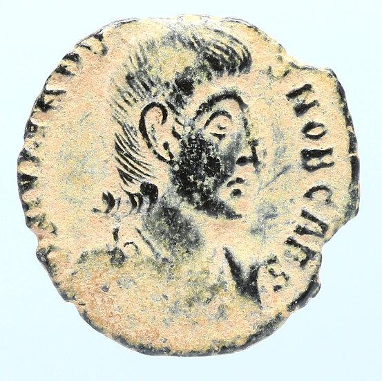 Moeda Romana deJuliano II, AE3, 6 de novembro de 355 a 3 de novembro de 361