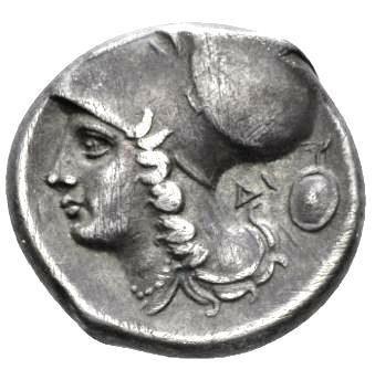Moeda Grega escassa stater da Acarnania (Liga Corinto)