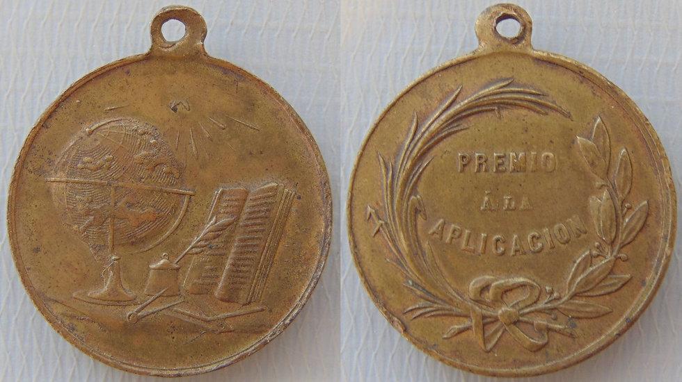Medalha Escolar Espanhola - Sec XX