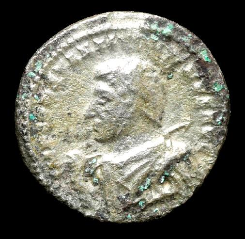 Moeda Rara Argenteus Bl de Constantino I O Grande (306 a 337)