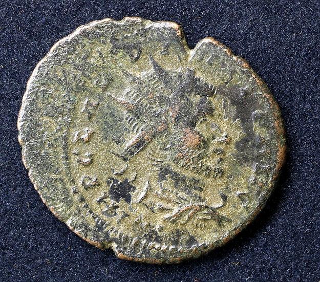 Moeda Romana de Claudius II Gothicus. 268-270 d.C.