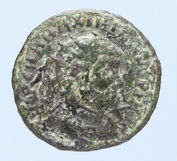 Moeda Romana de Maximiano (295-299 dC)