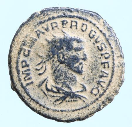Moeda Romana Probus (276-282 AD). AE Antoninianus (22 mm, 3,54 g),