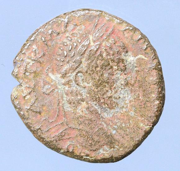 Elagabalus Tetradracma de Antioquia, Síria. 218-222
