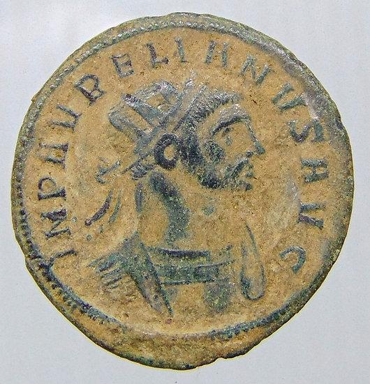 Moeda Romana De Aureliano - Roma No Ano De 274dc
