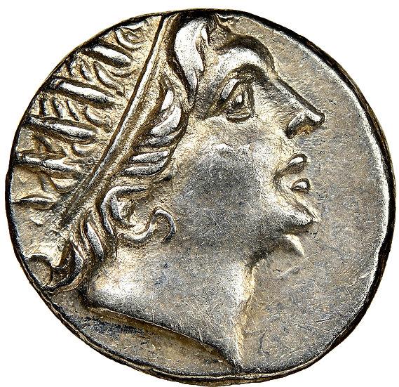 Moeda Grega Dracma de Rhodes. Ca. 88-84 aC - magistrado não listado!!