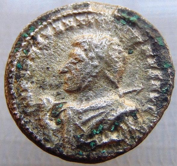 Moeda Romana Rara Argenteus Constantino O Grande Ref2815