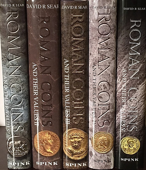 Roman Coins and their Values - Obra Completa