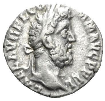 Moeda Romana Denário de Commodus (177-192)