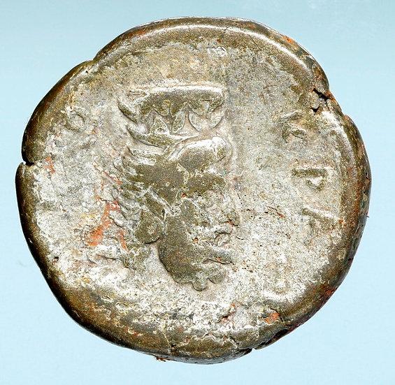 Moeda Tetradracma Bl Provincial de Nero (63/64 dC - ano 10)