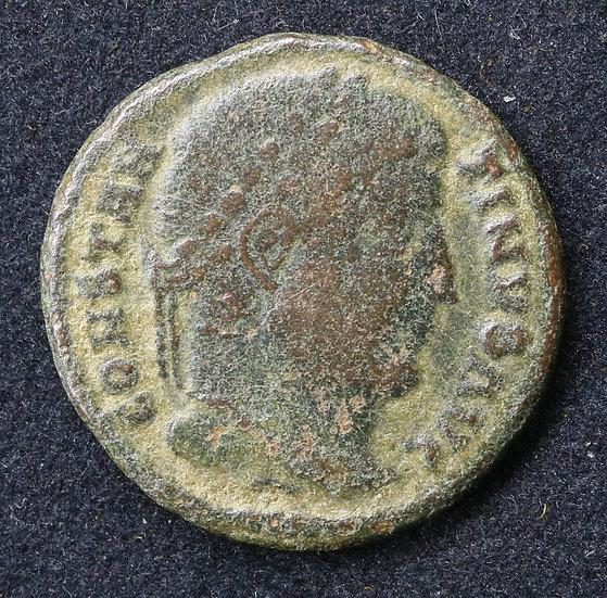 Moeda romana de Constantino I 307-337 dC
