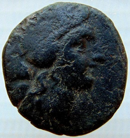 Moeda Grega Tessalônica - Macedôniae (187-131 aC)