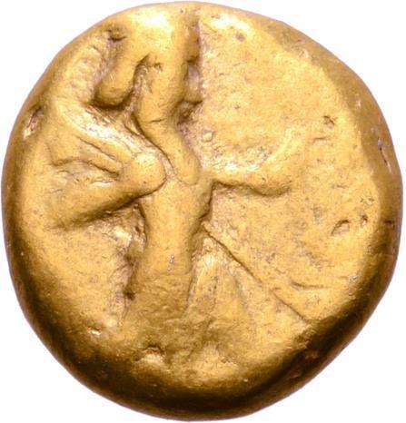 Persia, Achaemenid Empire AV Daric. Time of Darios I to Xerxes II. Sardes, circa