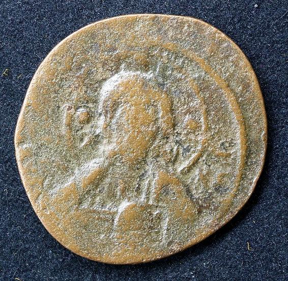 Moeda Bizantina Anônima de Nicephorus III 1078-1081 dC
