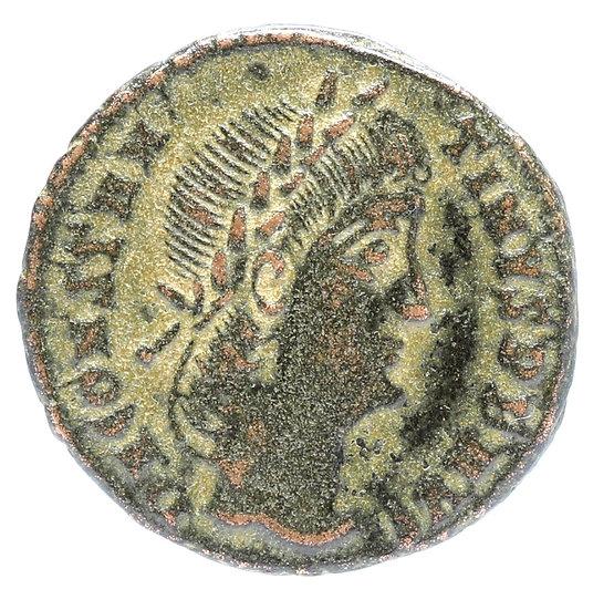 Moeda Romana de Constantino II - 316-337dC