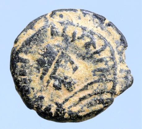 Moeda Bizantina Justinian I. AD 527-565. Constantinople