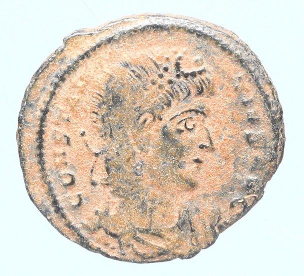 Moeda Romana de Constantius II AD 337-361.