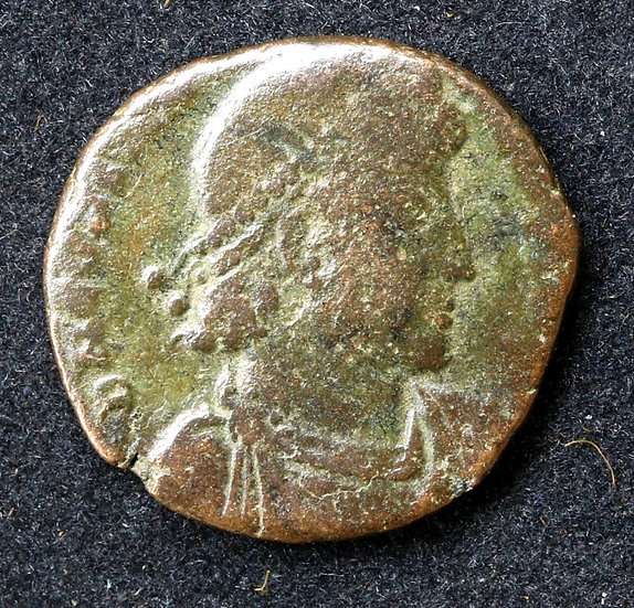 Moeda Romana de Constantius II 330-336dC