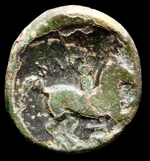 Moeda Grega de Philip II, pai de Alexandre O Grande (359-336 aC).