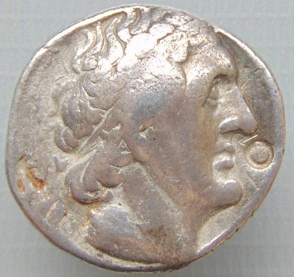 Moeda Grega Tetradracma de Ptolomeu II - Ref c2778