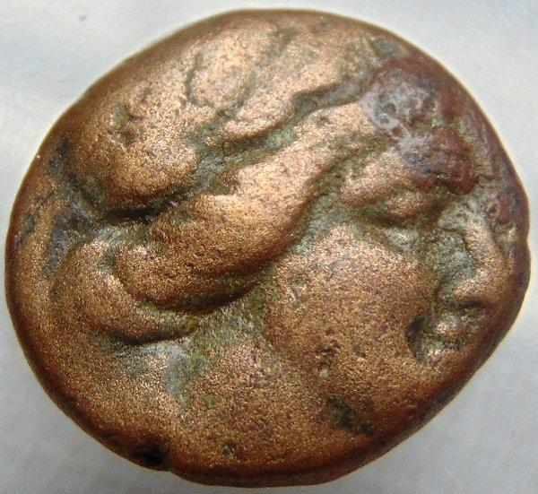 Moeda Grega Tricalcon da Tessália 200aC