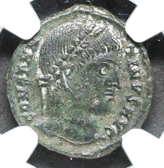 Moeda Romana de Constantino O Grande (307-337 dC)