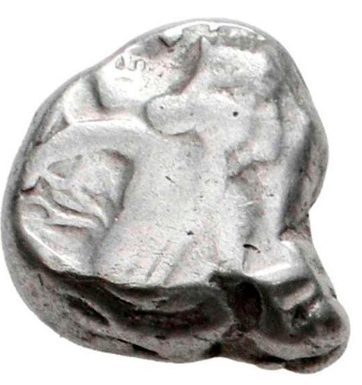 Moeda siglos de prata do Império Aquemênida (tempo de Artaxerxes I a Xerxes II)