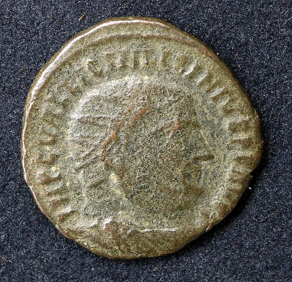 Moeda Romana de LICÍNIO I (308-324). Follis. Alexandria.