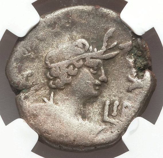 Moeda Provincial Romana de Nero 54-68 Alexandria