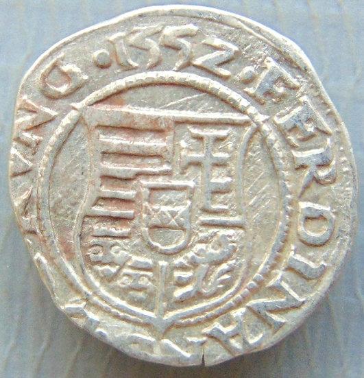 Moeda Denário Ferdinand I 1526-1540