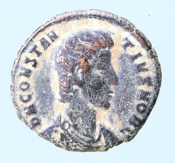 Moeda Romana de Constantius Gallus (César, 351-354).