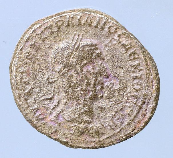 Trajano Décio Tetradracma de Antioquia, Síria. 214/5 dC