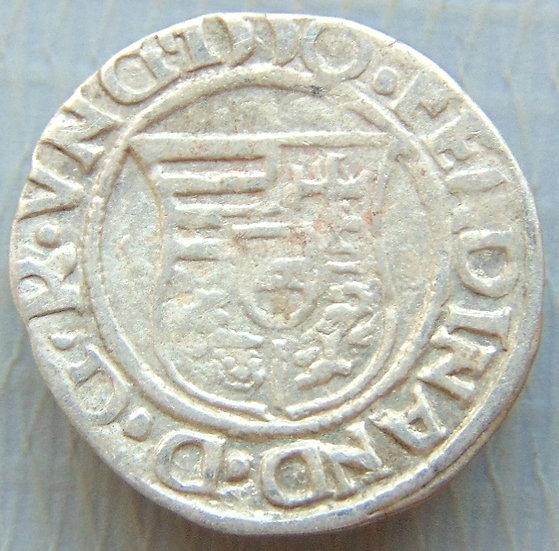 Moeda Denário Ferdinand I, 1526-1540