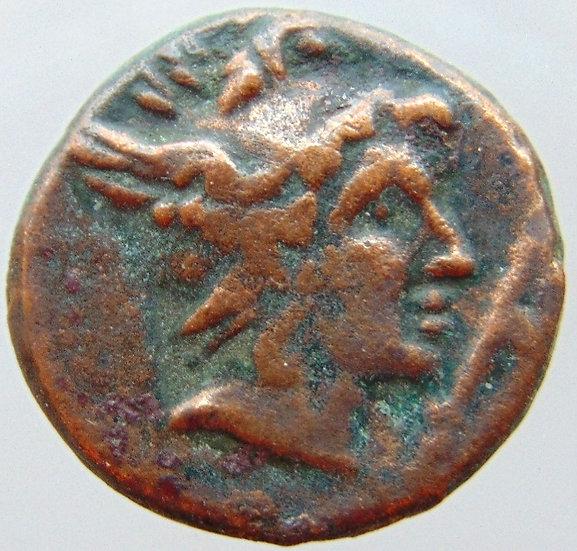 Moeda Grega de Perseus Macedonia - 179-168aC