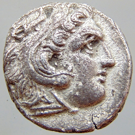 Moeda Grega Dracma de Alexandre III - O Grande 320-305 aC