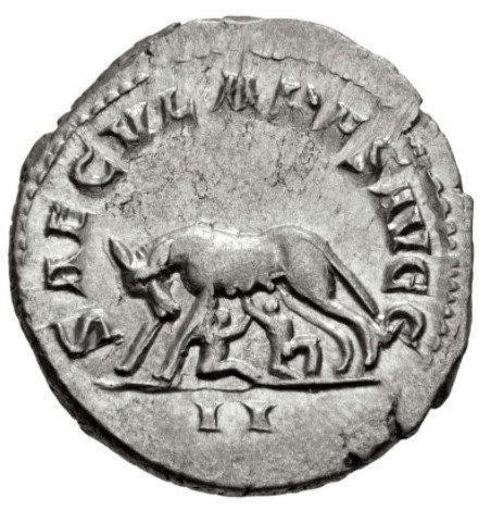 Moeda Romana Edição Ludi Saeculares (Jogos Seculares)- 1000 anos Roma