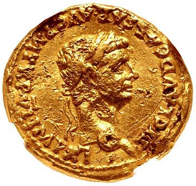 Moeda Roma Aureus Do Imperador Cláudio 41-54 Dc Ngc