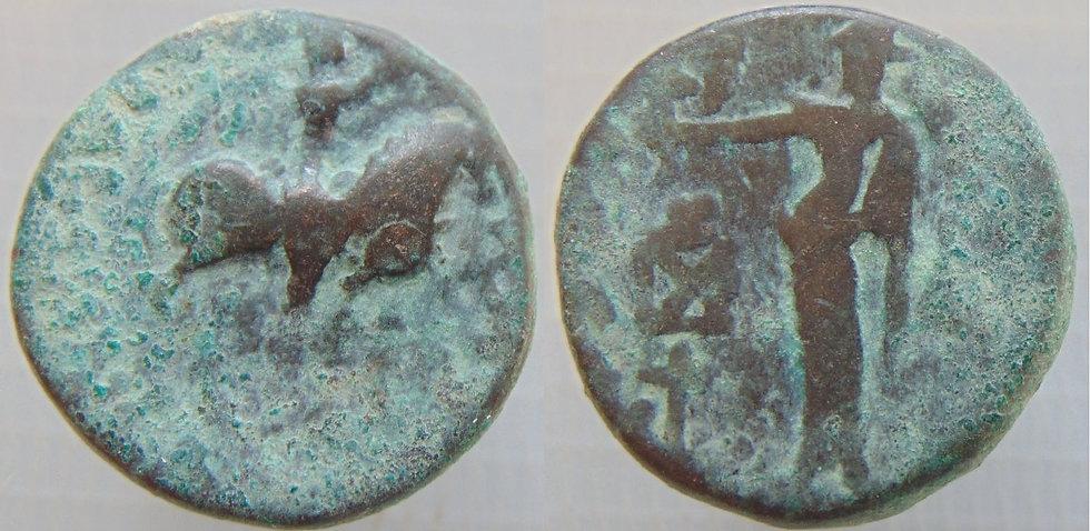 Bactria Azes II., 35 aC