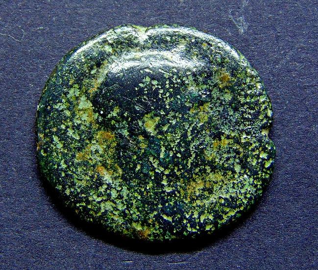 Moeda Romana Asse de Adriano 136-138dC
