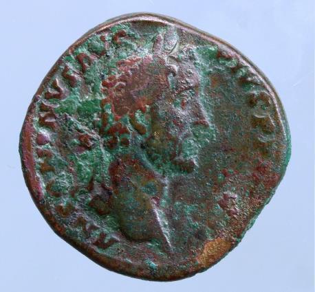 Moeda romana de Antoninus Pius. AD 138-161. Æ Sestertius (29mm, 27,94g