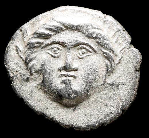 Moeda Grega Escassa da Trácia, Apolônia Pontika (cerca de 400 aC)